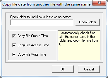 FMS File Date Changer screenshot